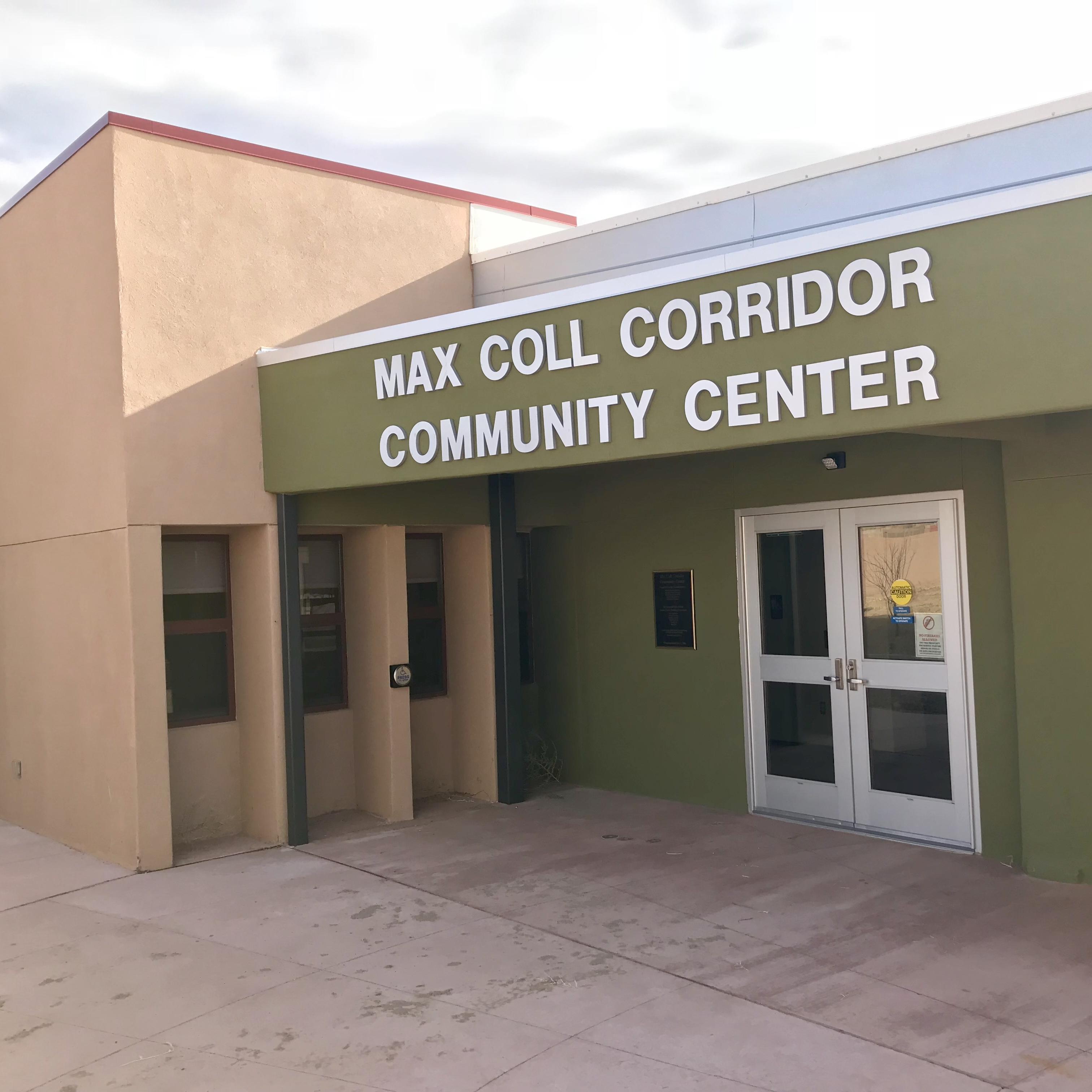 Max Coll Community Center Entrance